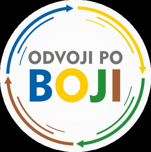 Logo Odvoji po boji