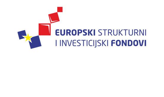 Logo Europskih i strukturnih investicijskih fondova